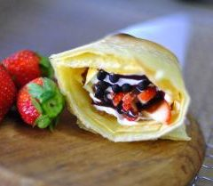 松末青果 ROLL Crepe coffee