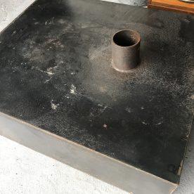 鉄板薪ストーブ