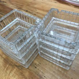 ガラス製 灰皿8セット